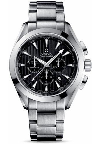 Omega Watches - Seamaster Aqua Terra 150 M Co-Axial Chronograph 44 mm - Stainless Steel - Style No: 231.10.44.50.01.001