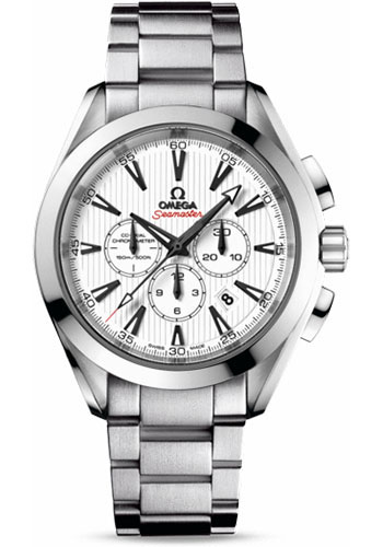 Omega Watches - Seamaster Aqua Terra 150 M Co-Axial Chronograph 44 mm - Stainless Steel - Style No: 231.10.44.50.04.001
