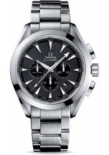 Omega Watches - Seamaster Aqua Terra 150 M Co-Axial Chronograph 44 mm - Stainless Steel - Style No: 231.10.44.50.06.001
