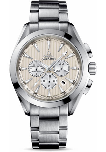 Omega Watches - Seamaster Aqua Terra 150 M Co-Axial Chronograph 44 mm - Stainless Steel - Style No: 231.10.44.50.09.001
