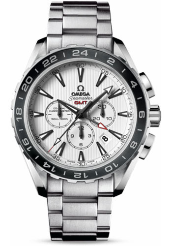 Omega Watches - Seamaster Aqua Terra 150 M Co-Axial Chronograph 44 mm - Stainless Steel - Style No: 231.10.44.52.04.001