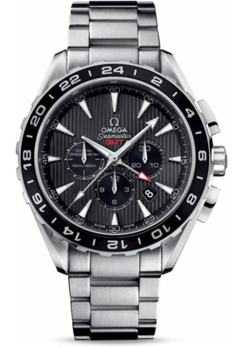 Omega Watches - Seamaster Aqua Terra 150 M Co-Axial Chronograph 44 mm - Stainless Steel - Style No: 231.10.44.52.06.001