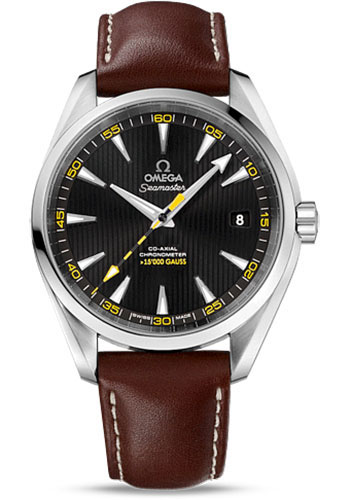 Omega Watches - Seamaster Aqua Terra 150 M Co-Axial 41.5 mm - Stainless Steel 15,000 Gauss - Style No: 231.12.42.21.01.001