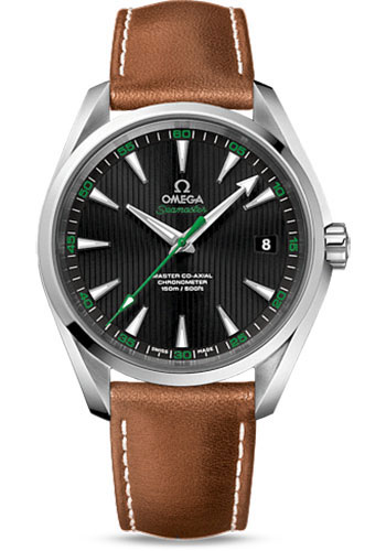 Omega Watches - Seamaster Aqua Terra 150 M Master Co-Axial 41.5 mm - Golf - Style No: 231.12.42.21.01.003