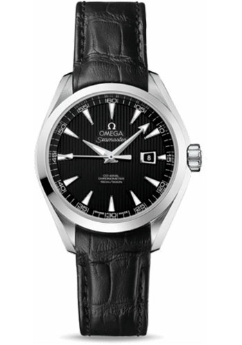 Omega Watches - Seamaster Aqua Terra 150 M Co-Axial 34 mm - Stainless Steel - Style No: 231.13.34.20.01.001