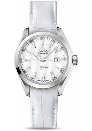 Omega Watches - Seamaster Aqua Terra 150 M Co-Axial 34 mm - Stainless Steel - Style No: 231.13.34.20.04.001