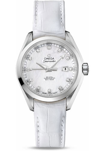 Omega Watches - Seamaster Aqua Terra 150 M Co-Axial 34 mm - Stainless Steel - Style No: 231.13.34.20.55.001
