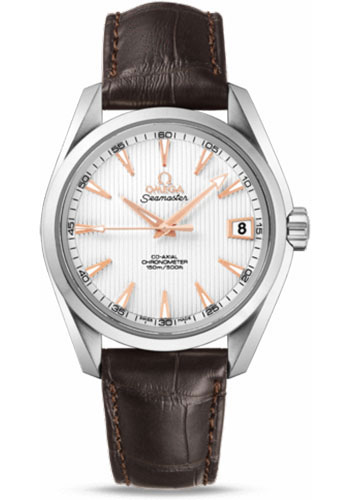 Omega Watches - Seamaster Aqua Terra 150 M Co-Axial 38.5 mm - Stainless Steel - Style No: 231.13.39.21.02.002