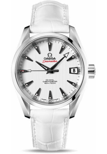 Omega Watches - Seamaster Aqua Terra Chronometer 38.5 mm Stainless Steel On Leather - Style No: 231.13.39.21.54.001