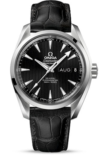 Omega Watches - Seamaster Aqua Terra 150 M Co-Axial Annual Calendar 38.5 mm - Stainless Steel - Style No: 231.13.39.22.01.001