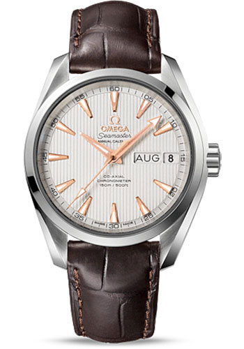 Omega Watches - Seamaster Aqua Terra 150 M Co-Axial Annual Calendar 38.5 mm - Stainless Steel - Style No: 231.13.39.22.02.001
