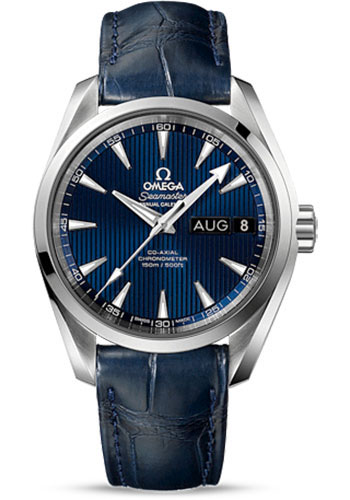 Omega Watches - Seamaster Aqua Terra 150 M Co-Axial Annual Calendar 38.5 mm - Stainless Steel - Style No: 231.13.39.22.03.001