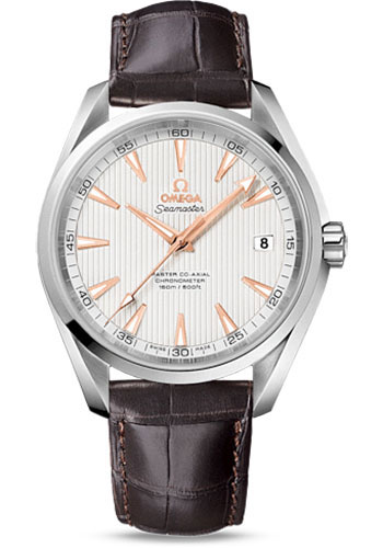 Omega Watches - Seamaster Aqua Terra 150 M Master Co-Axial 41.5 mm - Stainless Steel - Style No: 231.13.42.21.02.003