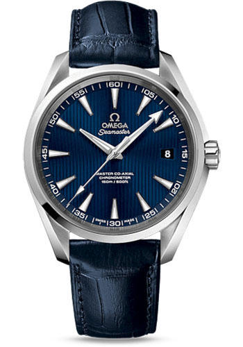 Omega Watches - Seamaster Aqua Terra 150 M Master Co-Axial 41.5 mm - Stainless Steel - Style No: 231.13.42.21.03.001