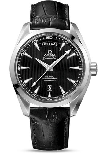 Omega Watches - Seamaster Aqua Terra 150 M Co-Axial Day-Date 41.5 mm - Stainless Steel - Style No: 231.13.42.22.01.001