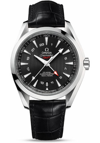 Omega Watches - Seamaster Aqua Terra 150 M Co-Axial GMT 43 mm - Stainless Steel - Style No: 231.13.43.22.01.001