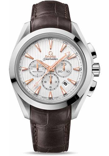 Omega Watches - Seamaster Aqua Terra 150 M Co-Axial Chronograph 44 mm - Stainless Steel - Style No: 231.13.44.50.02.001