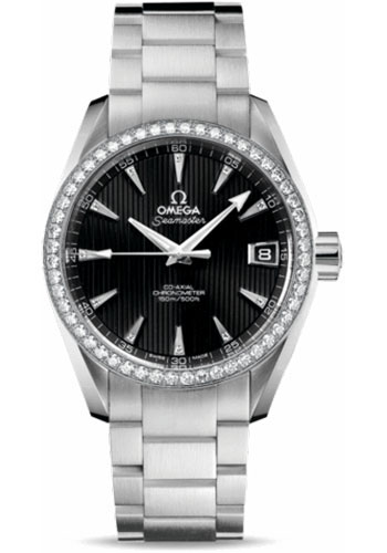 Omega Watches - Seamaster Aqua Terra 150 M Co-Axial 38.5 mm - Stainless Steel - Style No: 231.15.39.21.51.001