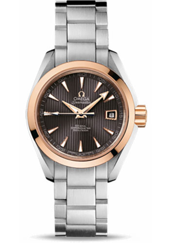 Omega Watches - Seamaster Aqua Terra 150 M Co-Axial 30 mm - Steel And Red Gold - Style No: 231.20.30.20.06.003