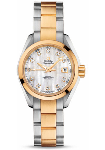 Omega Watches - Seamaster Aqua Terra 150 M Co-Axial 30 mm - Steel And Yellow Gold - Style No: 231.20.30.20.55.002
