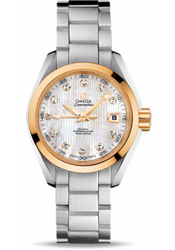 Omega Watches - Seamaster Aqua Terra 150 M Co-Axial 30 mm - Steel And Yellow Gold - Style No: 231.20.30.20.55.004
