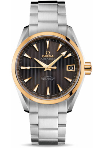 Omega Watches - Seamaster Aqua Terra 150 M Co-Axial 38.5 mm - Steel And Yellow Gold - Style No: 231.20.39.21.06.004