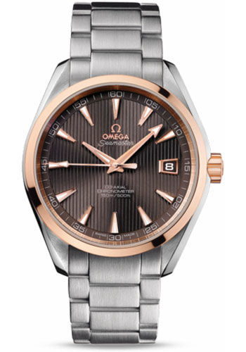 Omega Watches - Seamaster Aqua Terra 150 M Co-Axial 41.5 mm - Steel And Red Gold - Style No: 231.20.42.21.06.002