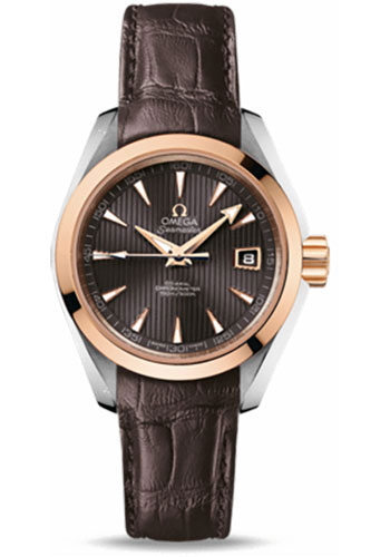 Omega Watches - Seamaster Aqua Terra 150 M Co-Axial 30 mm - Steel And Red Gold - Style No: 231.23.30.20.06.001