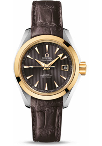 Omega Watches - Seamaster Aqua Terra 150 M Co-Axial 30 mm - Steel And Yellow Gold - Style No: 231.23.30.20.06.002