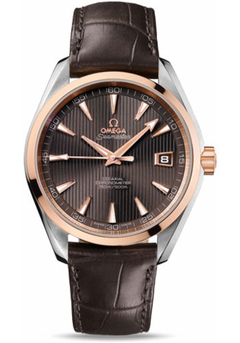 Omega Watches - Seamaster Aqua Terra 150 M Co-Axial 41.5 mm - Steel And Red Gold - Style No: 231.23.42.21.06.001