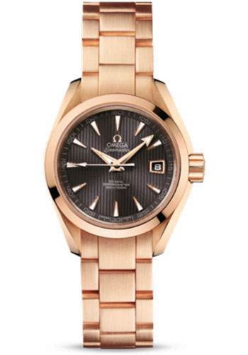 Omega Watches - Seamaster Aqua Terra 150 M Co-Axial 30 mm - Red Gold - Style No: 231.50.30.20.06.001