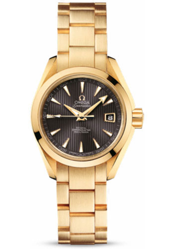 Omega Watches - Seamaster Aqua Terra 150 M Co-Axial 30 mm - Yellow Gold - Style No: 231.50.30.20.06.002