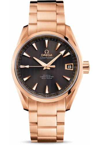 Omega Watches - Seamaster Aqua Terra Chronometer 38.5 mm Red Gold - Style No: 231.50.39.21.06.001