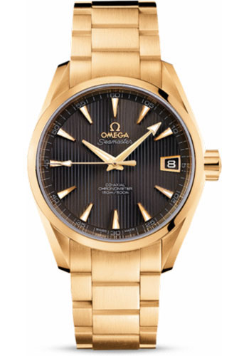 Omega Watches - Seamaster Aqua Terra 150 M Co-Axial 38.5 mm - Yellow Gold - Style No: 231.50.39.21.06.002