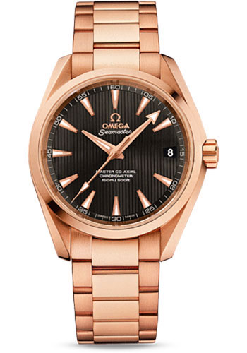 Omega Watches - Seamaster Aqua Terra 150 M Master Co-Axial 38.5 mm - Red Gold - Style No: 231.50.39.21.06.003