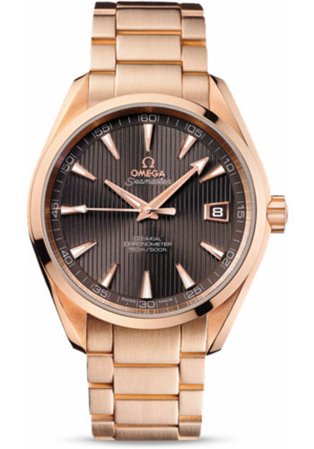 Omega Watches - Seamaster Aqua Terra 150 M Co-Axial 41.5 mm - Red Gold - Style No: 231.50.42.21.06.001