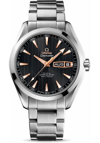 Omega Watches - Seamaster Aqua Terra 150 M Co-Axial Annual Calendar 43 mm - White Gold - Style No: 231.50.43.22.01.001