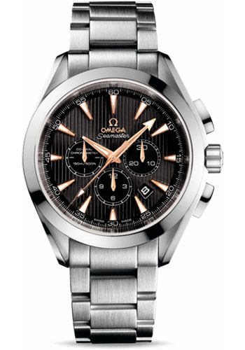 Omega Watches - Seamaster Aqua Terra 150 M Co-Axial Chronograph 44 mm - White Gold - Style No: 231.50.44.50.01.001