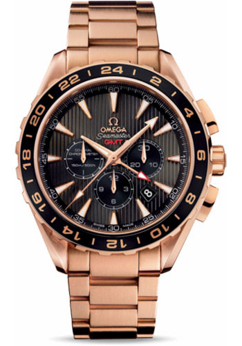 Omega Watches - Seamaster Aqua Terra Chronograph Red Gold - Style No: 231.50.44.52.06.001