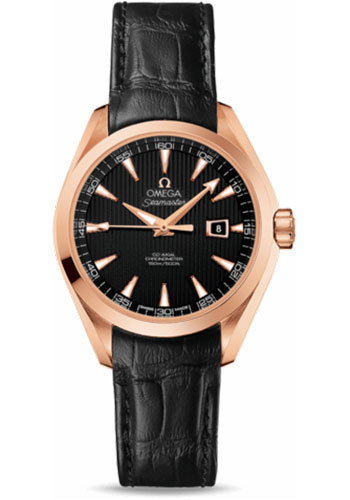 Omega Watches - Seamaster Aqua Terra 150 M Co-Axial 34 mm - Red Gold - Style No: 231.53.34.20.01.002