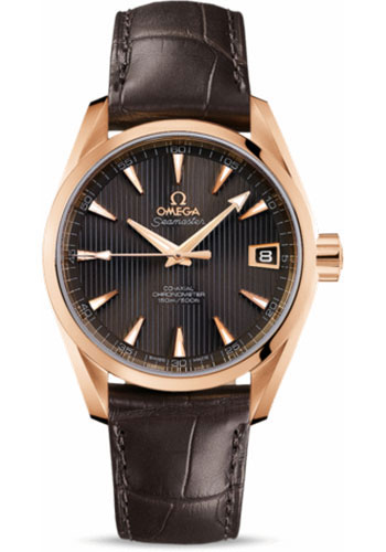 Omega Watches - Seamaster Aqua Terra Chronometer 38.5 mm Red Gold - Style No: 231.53.39.21.06.001