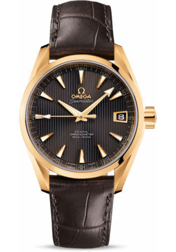 Omega Watches - Seamaster Aqua Terra 150 M Co-Axial 38.5 mm - Yellow Gold - Style No: 231.53.39.21.06.002