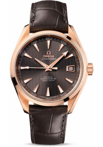 Omega Watches - Seamaster Aqua Terra 150 M Co-Axial 41.5 mm - Red Gold - Style No: 231.53.42.21.06.001