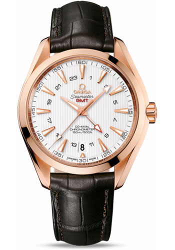 Omega Watches - Seamaster Aqua Terra 150 M Co-Axial GMT 43 mm - Red Gold - Style No: 231.53.43.22.02.001
