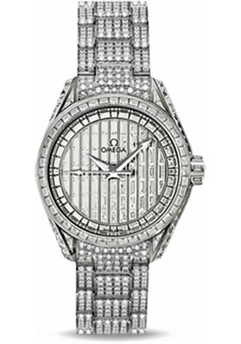 Omega Watches - Seamaster Aqua Terra 150 M Co-Axial 30 mm - White Gold - Style No: 231.55.30.20.99.003