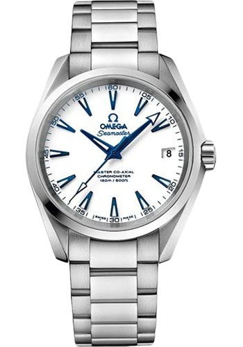 Omega Watches - Seamaster Aqua Terra 150M Master Co-Axial 38.5 mm - Titanium - Style No: 231.90.39.21.04.001