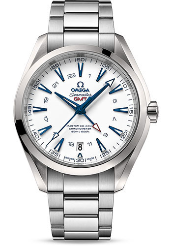 Omega Watches - Seamaster Aqua Terra 150 M Master Co-Axial GMT 43 mm - Style No: 231.90.43.22.04.001