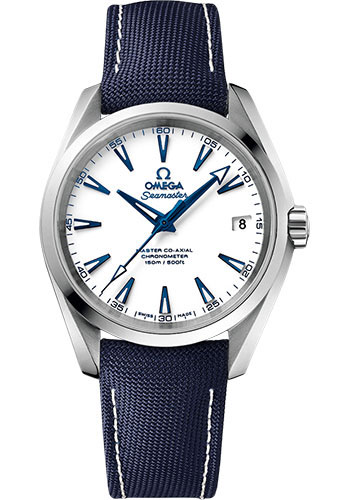 Omega Watches - Seamaster Aqua Terra 150 M Master Co-Axial 38.5 mm - Titanium GoodPlanet - Style No: 231.92.39.21.04.001