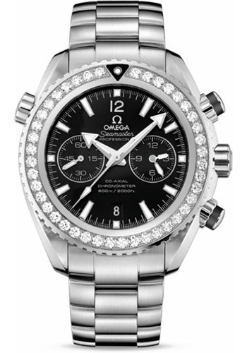 Omega Watches - Seamaster Planet Ocean 600 M Co-Axial 45.5 mm - Stainless Steel - Style No: 232.15.46.51.01.001