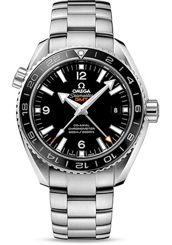 Omega Watches - Seamaster Planet Ocean 600 M Co-Axial GMT 43.5 mm - Stainless Steel - Style No: 232.30.44.22.01.001